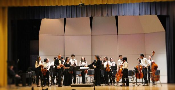 2018 NHS Orchestra at spring concert